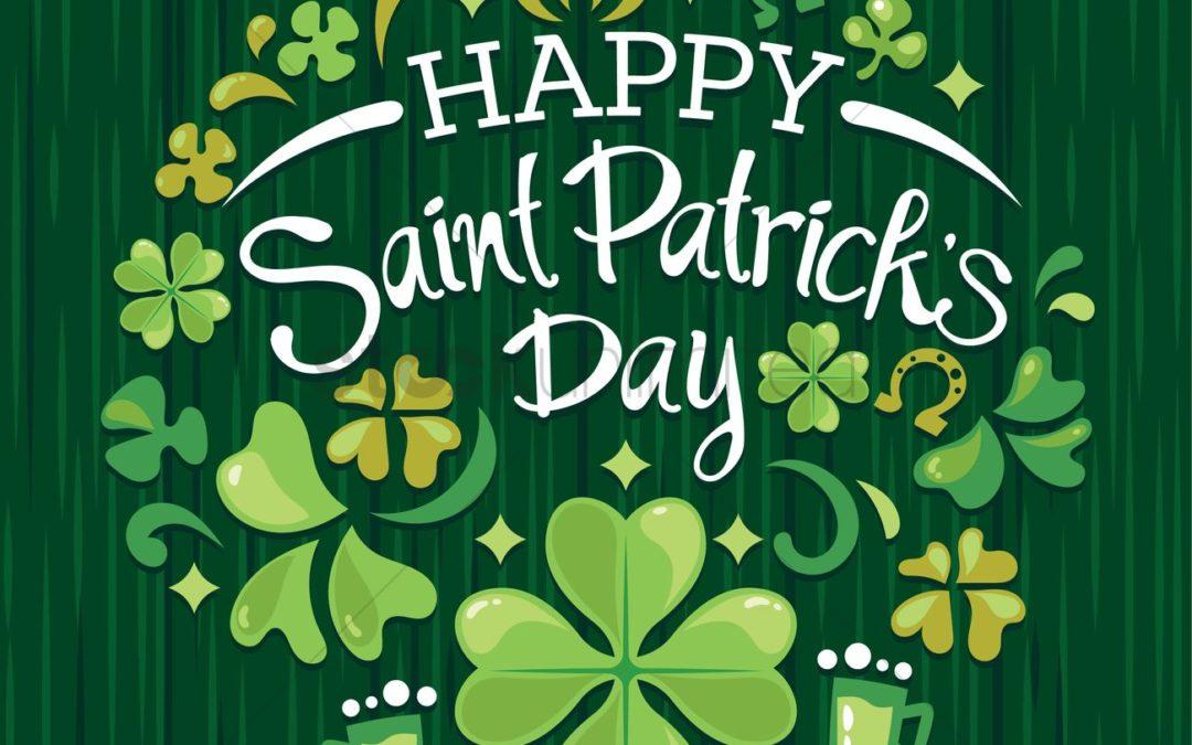 2019 | Happy Saint Patrick's Day!