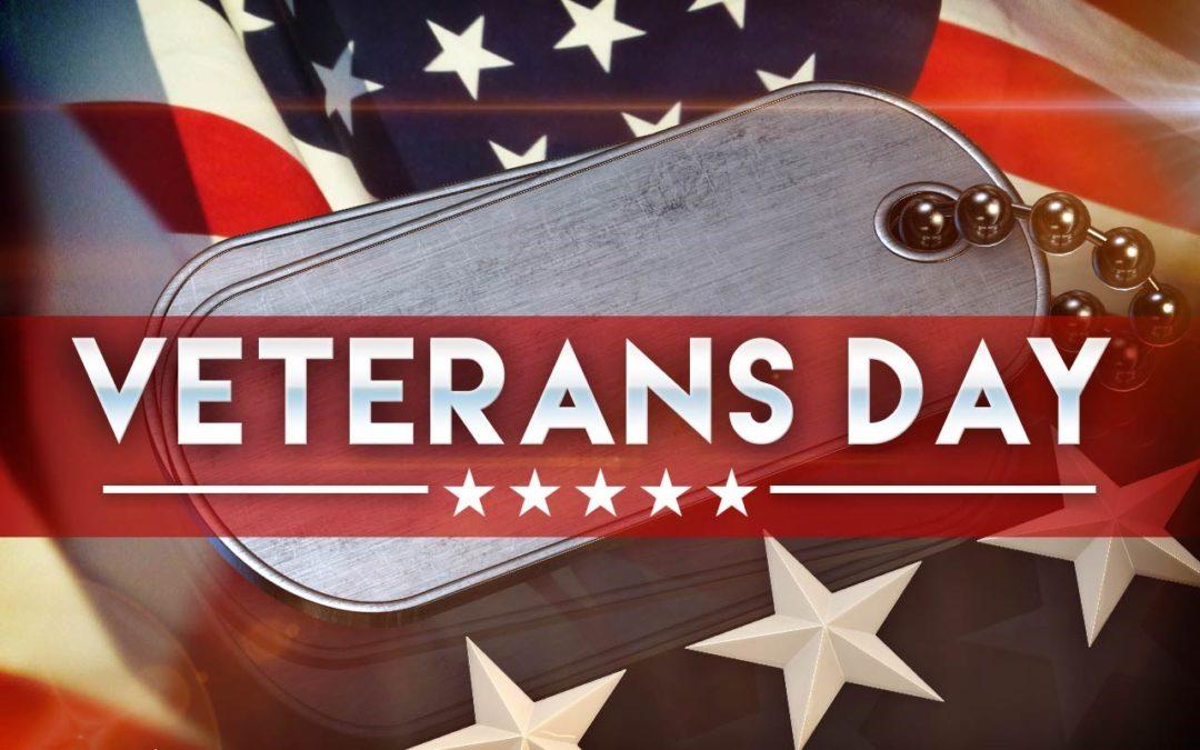 2019 | Happy Veterans Day!