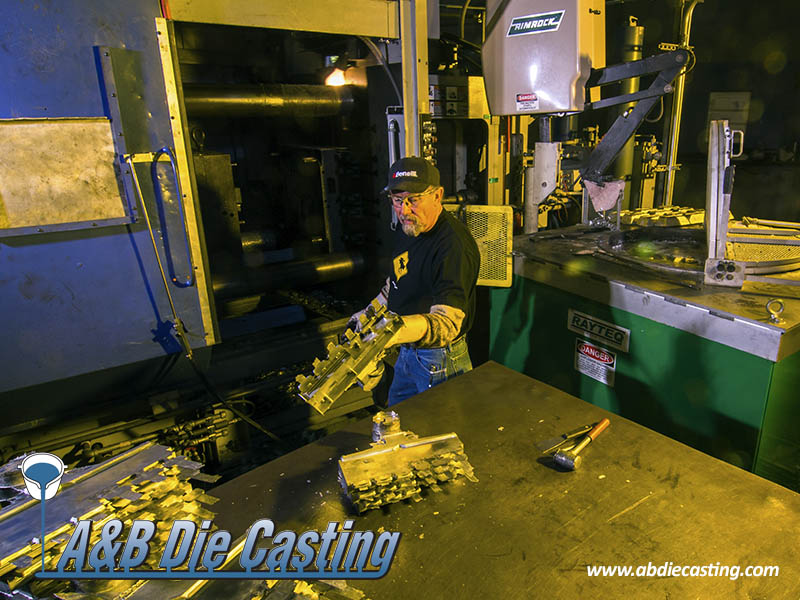 What is the difference between aluminum and zinc alloys when die casting?